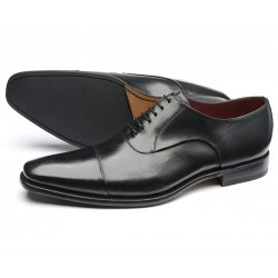 Loake Snyder black 6 eye...