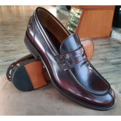Peter & Co oxblood loafer