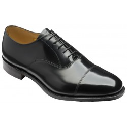 Loake 747 black 5 eye plain...