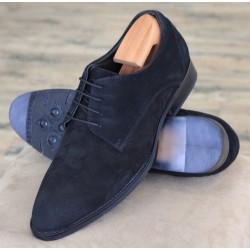 Bertini Uomo 19401 black suede