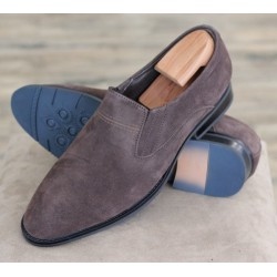 Bertini Uomo 19106 brown suede