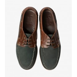 Loake 521 navy nubuck/brown...