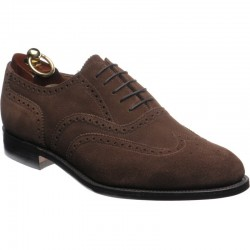 Loake 758 brown suede 5 eye...