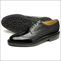 Loake Sovereign black 5 eye...