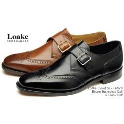 Loake Telford black brogue...