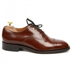 Loake 747 brown 5 eye oxford