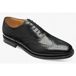 Loake 262/302B black 5 eye...