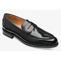 Loake 356 black penny loafer