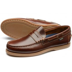 Loake Plymouth brown deck shoe