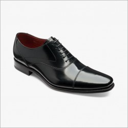 Loake Sharp black 6 eye oxford