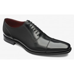Loake Larch black cap-toe...