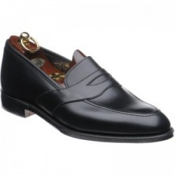 Loake Embankment black loafer
