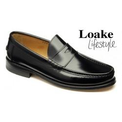 Loake Kingston black penny...