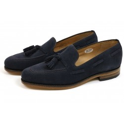 Loake Lincoln navy suede...