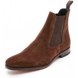 Loake Mitchum brown suede...