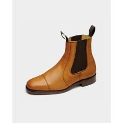 Loake Newbury tan dealer boot