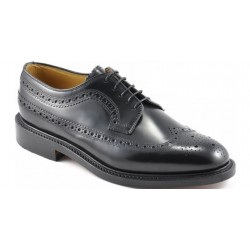 Loake Royal brogue black  5...