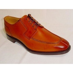 Loake Rugby tan 5 eye split...