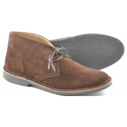 Loake Sahara brown suede 2...