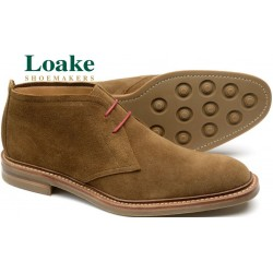 Loake Sandown brown suede 2...