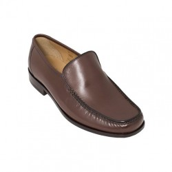 Loake Siena brown moccasin